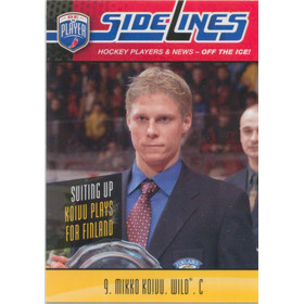 2009-10 BE A PLAYER - MIKKO KOIVU #S36 SIDELINES