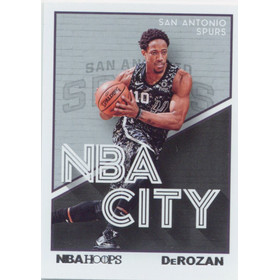 2019-20 Hoops - DeMar DeRozan NBA City #15