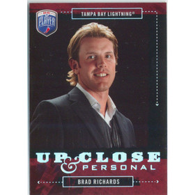 2006-07 BE A PLAYER - BRAD RICHARDS #UC8 UP CLOSE & PERSONAL 649/999