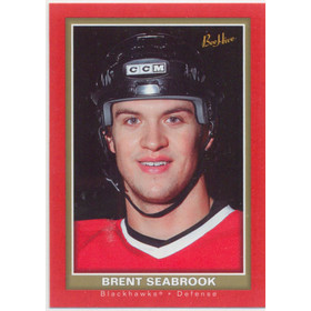 2005-06 BEEHIVE - BRENT SEABROOK #122 RED