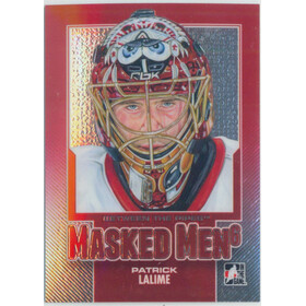 2013-14 BETWEEN THE PIPES - PATRICK LALIME #MM-36 MASKED MEN 6