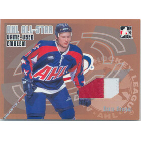 2006-07 HEROES AND PROSPECTS - DENIS SHVIDKI #AE-09 AHL ALL-STAR EMBLEM /30