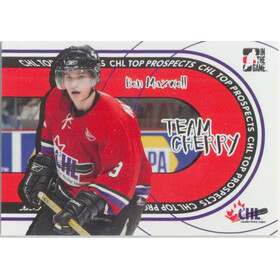 2005-06 HEROES AND PROSPECTS - BEN MAXWELL #TC-08 TEAM CHERRY