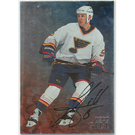 1998-99 BE A PLAYER - TODD GILL #127 AUTOGRAPHS