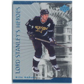 1998-99 UPPER DECK - MIKE MODANO #LS28 LORD STANLEY'S HEROES