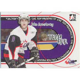 2005-06 HEROES AND PROSPECTS - JOHN ARMSTRONG #TO-01 TEAM ORR