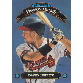 1992 Donruss - David Justice Diamond Kings #DK-6