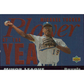 1994 Upper Deck Minors - Michael Tucker Player of the Year #PY24