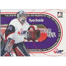 2005-06 HEROES AND PROSPECTS - RYAN DANIELS #TO-06 TEAM ORR