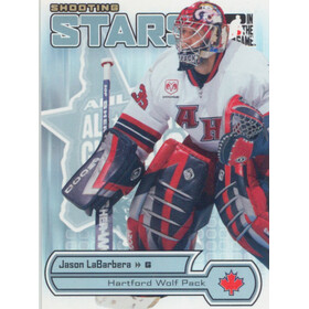 2005-06 HEROES AND PROSPECTS - JASON LABARBERA #AS-01 SHOOTING STARS