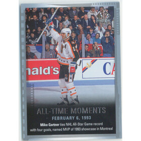 2015-16 SP AUTHENTIC - MIKE GARTNER #140 ALL-TIME MOMENTS