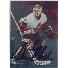 1998-99 BE A PLAYER - DAMIAN RHODES #96 AUTOGRAPHS