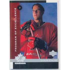 1997-98 UPPER DECK - SIMON GAGNE #411 ROOKIE