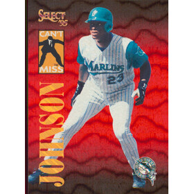 1995 Select - Charles Johnson Can't Miss #CM3