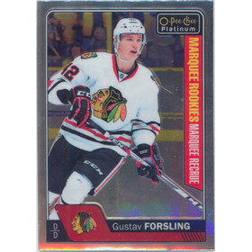 2016-17 O-PEE-CHEE PLATINUM - GUSTAV FORSLING #183 MARQUEE ROOKIE