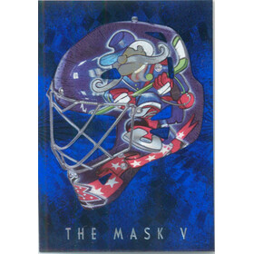 2007-08 BETWEEN THE PIPES - PASCAL LECLAIRE #M-24 THE MASK V