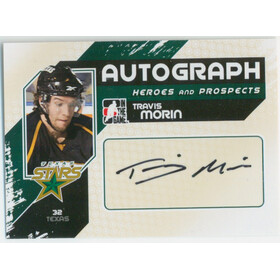 2010-11 HEROES AND PROSPECTS - TRAVIS MORIN #A-TM AUTOGRAPH