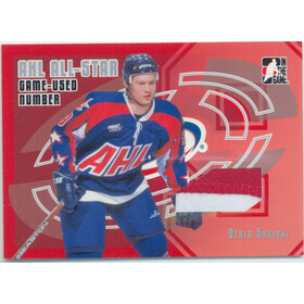 2006-07 HEROES AND PROSPECTS - DENIS SHVIDKI #AE-09 AHL ALL-STAR NUMBER /30