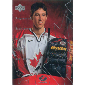 1998-99 UPPER DECK PROGRAM OF EXCELLENCE - BRIAN FINLEY #391 ROOKIE