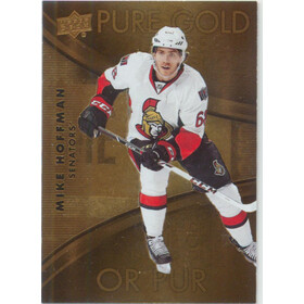 2016-17 TIM HORTONS - MIKE HOFFMAN #PG-13 PURE GOLD
