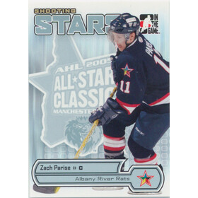 2005-06 HEROES AND PROSPECTS - ZACH PARISE #AS-10 SHOOTING STARS