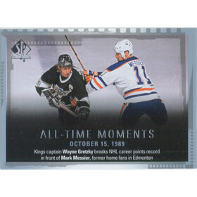 2015-16 SP AUTHENTIC - WAYNE GRETZKY/MARK MESSIER #155 ALL-TIME MOMENTS