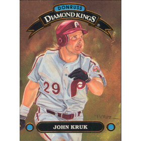 1992 Donruss - John Kruk Diamond Kings #DK-12