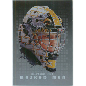 2008-09 BETWEEN THE PIPES - OLIVIER ROY #MM-29 MASKED MEN SILVER
