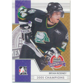 2005-06 HEROES AND PROSPECTS - BRYAN RODNEY #MC-10 MEMORIAL CUP