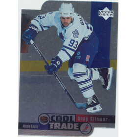 1995-96 NHL COOL TRADE - DOUG GILMOUR #17 DIE CUTS
