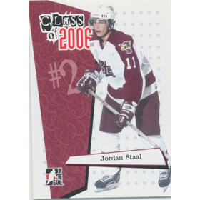 2006-07 HEROES AND PROSPECTS - JORDAN STAAL #CL-01 CLASS OF 2006