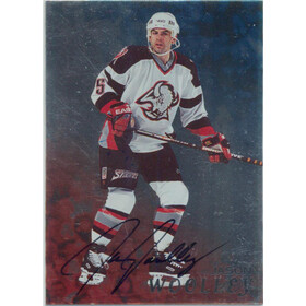 1998-99 BE A PLAYER - JASON WOOLLEY #13 AUTOGRAPHS