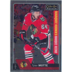 2016-17 O-PEE-CHEE PLATINUM - TYLER MOTTE #193 MARQUEE ROOKIE
