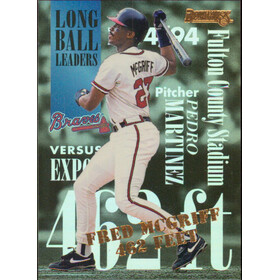 1995 Donruss - Fred McGriff Long Ball Leaders #2