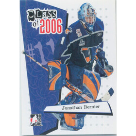 2006-07 HEROES AND PROSPECTS - JONATHAN BERNIER #CL-07 CLASS OF 2006