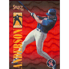 1995 Select - Garret Anderson Can't Miss #CM9