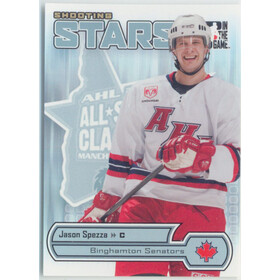 2005-06 HEROES AND PROSPECTS - JASON SPEZZA #AS-04 SHOOTING STARS