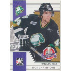 2005-06 HEROES AND PROSPECTS - ROBBIE SCHREMP #MC-02 MEMORIAL CUP