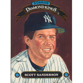 1992 Donruss - Scott Sanderson Diamond Kings #DK-10