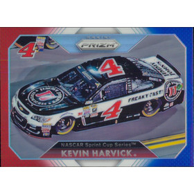 2016 Prizm - Kevin Harvick Red White & Blue #55