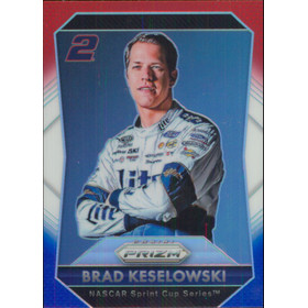 2016 Prizm - Brad Keselowski Red White & Blue #2