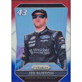 2016 Prizm - Jeb Burton Red White & Blue #21