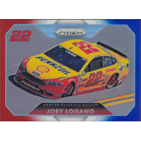 2016 Prizm - Joey Logano Red White & Blue #60