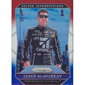 2016 Prizm - Jamie McMurray Red White & Blue #89