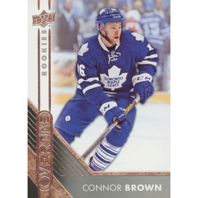 2016-17 OVERTIME - CONNOR BROWN #55 ROOKIE