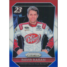 2016 Prizm - David Ragan Red White & Blue #12