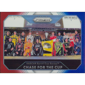 2016 Prizm - Chase for the Cup Red White & Blue #100