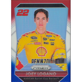 2016 Prizm - Joey Logano Red White & Blue #22