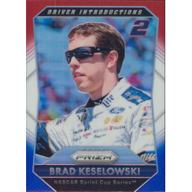 2016 Prizm - Brad Keselowski Red White & Blue #82