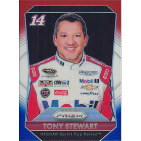 2016 Prizm - Tony Stewart Red White & Blue #14